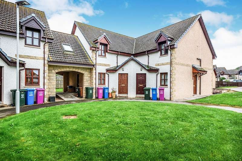 2 Bedrooms Apartment Flat for sale in Knockomie Rise, Forres, Morayshire, IV36