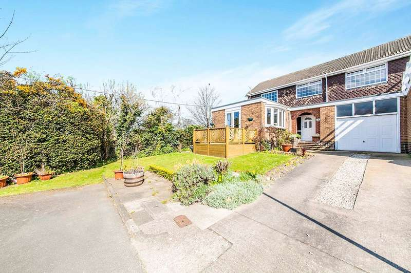 3 Bedrooms House for sale in Rectory Green, West Boldon, East Boldon, Tyne And Wear, NE36