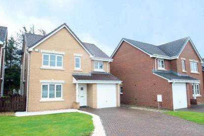 4 Bedrooms Detached House for sale in Cartleburn Gardens, Kilwinning, North Ayrshire