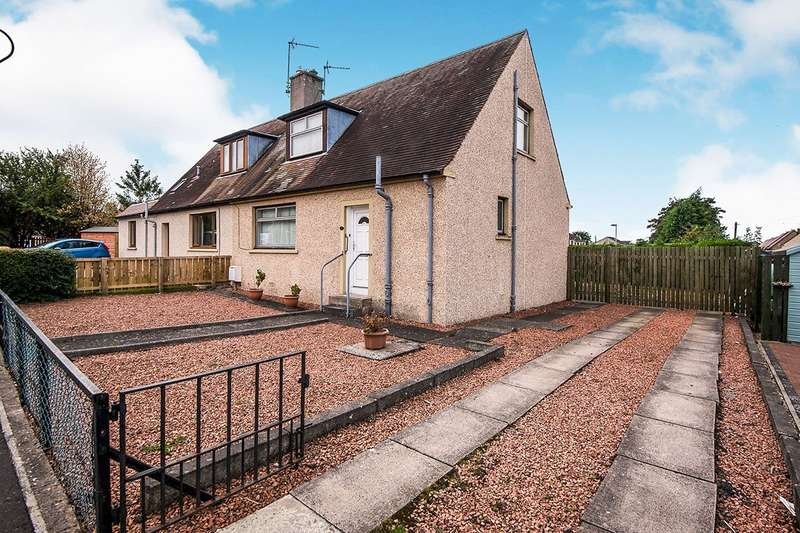 3 Bedrooms Semi Detached House for sale in Woodburn Grove, Dalkeith, Midlothian, EH22