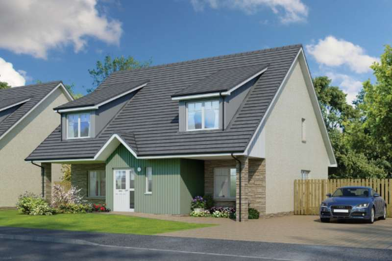 5 Bedrooms Detached Bungalow for sale in Oakley Road, Saline, Dunfermline, Fife, KY12