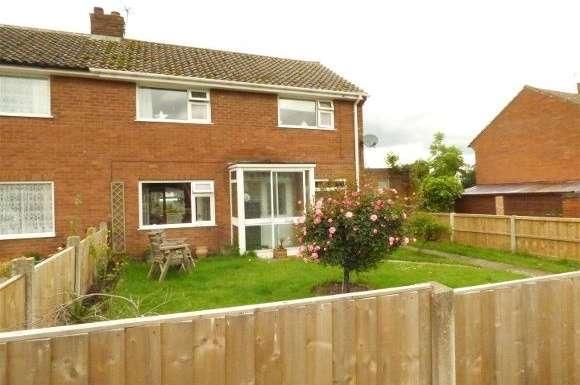 3 Bedrooms Semi Detached House for sale in 33 Wrekin View, Wrockwardine, Telford