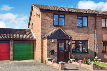 3 Bedrooms Semi Detached House for sale in Bingham Close, Emerson Valley, Milton Keynes, Buckinghamshire