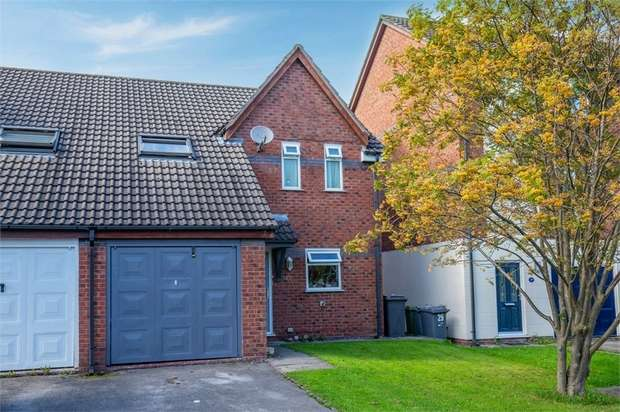 3 Bedrooms Semi Detached House for sale in The Moorings, Middlewich, Cheshire