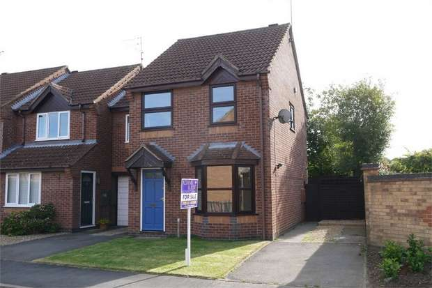 3 Bedrooms End Of Terrace House for sale in Deene Close, Market Harborough, Leicestershire