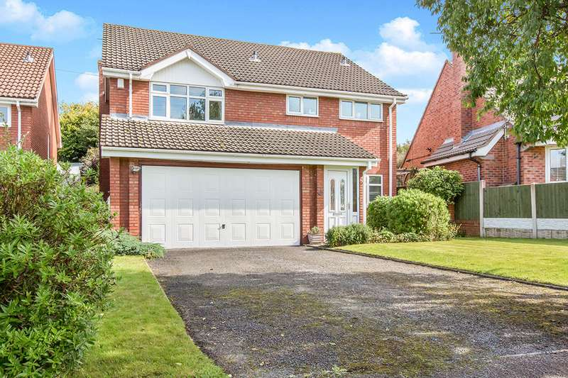 4 Bedrooms Detached House for sale in Howey Lane, Congleton, Cheshire, CW12