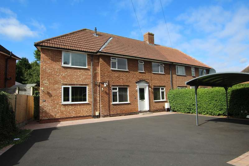 4 Bedrooms Semi Detached House for sale in Ebrook Road, Sutton Coldfield, B72 1NY