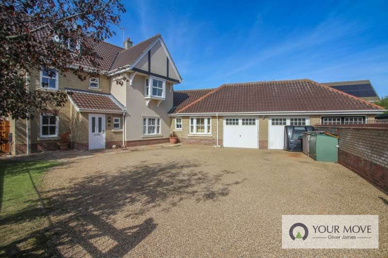 5 Bedrooms Detached House for sale in Baillie Close, Gorleston, Great Yarmouth, NR31