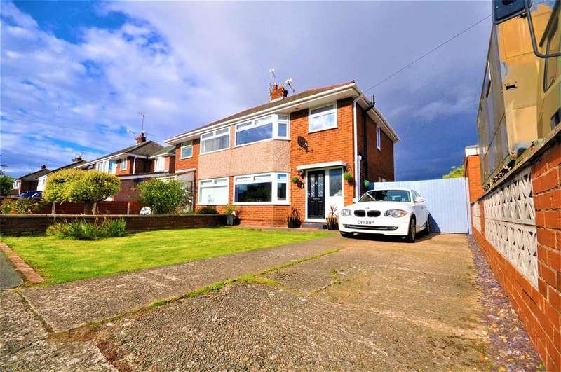 3 Bedrooms Semi Detached House for sale in Weaver Road, Ellesmere port