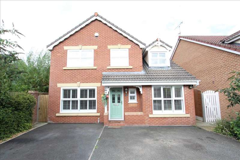 4 Bedrooms Detached House for sale in Rona Avenue, Stanney Oaks