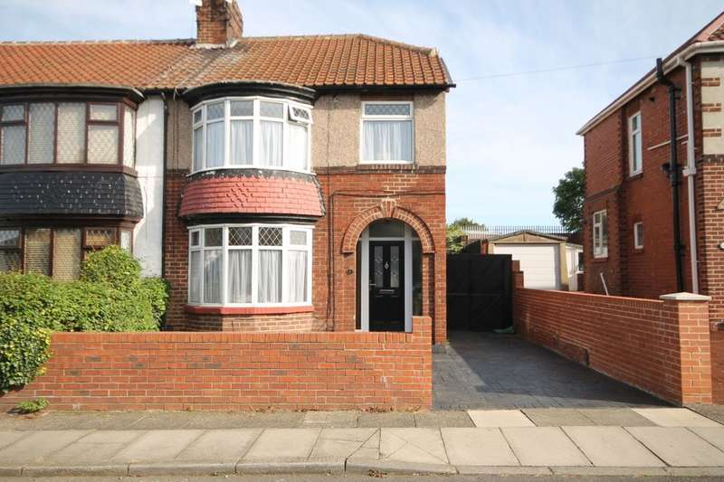 3 Bedrooms Semi Detached House for sale in Keithlands Avenue, Stockton-On-Tees, TS20