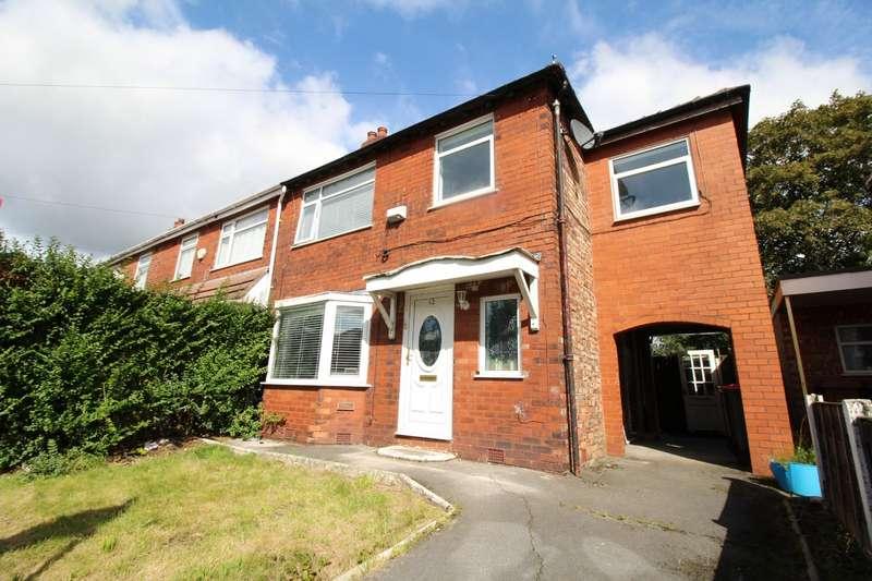 4 Bedrooms Semi Detached House for sale in Dearden Avenue, Little Hulton, Manchester, M38