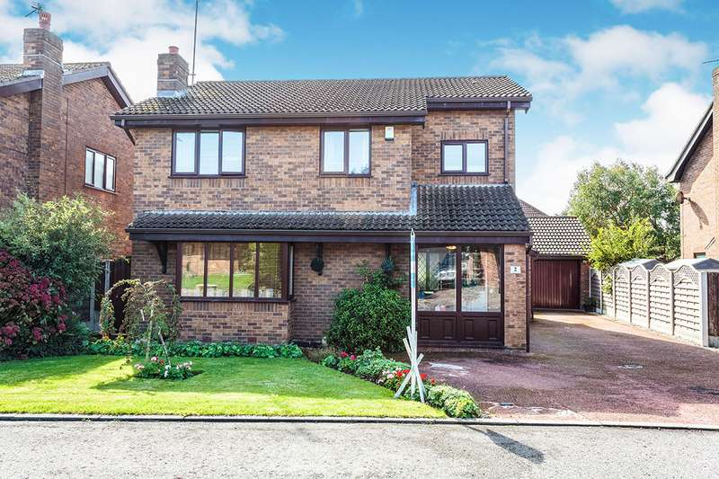 4 Bedrooms Detached House for sale in Millersdale Close, Thornton-Cleveleys, Lancashire, FY5