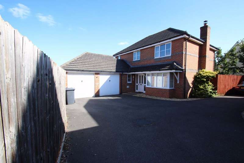 4 Bedrooms Detached House for sale in Hargreaves Road, Trowbridge, Wiltshire, BA14