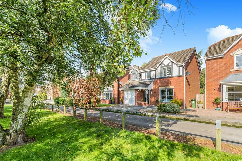 4 Bedrooms Detached House for sale in Troon Close, Euxton, Chorley, Lancashire, PR7