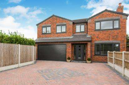 5 Bedrooms Detached House for sale in Heath Avenue, Sandbach, Cheshire, Sandbach