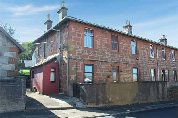 2 Bedrooms Flat for sale in Carsphairn Road, Dalmellington, Ayr