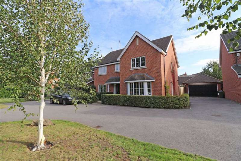 5 Bedrooms Detached House for sale in Myton Road, Warwick, CV34