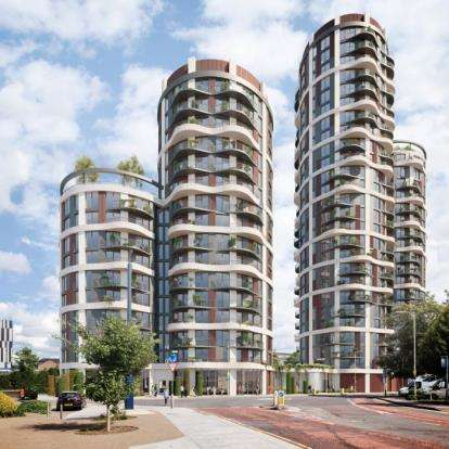2 Bedrooms Flat for sale in Plot, Cambridge Road, Barking
