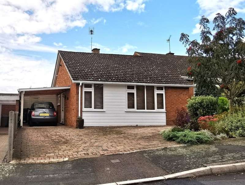 2 Bedrooms Semi Detached Bungalow for sale in Robins Bow, Camberley, Surrey, GU15
