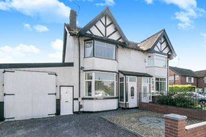 3 Bedrooms Semi Detached House for sale in Sutton Way, Great Sutton, Ellesmere Port, Cheshire, CH65