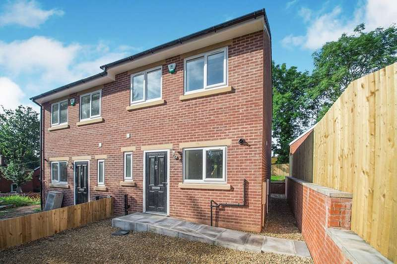 2 Bedrooms Semi Detached House for sale in Chesham Fold Road, Bury, BL9
