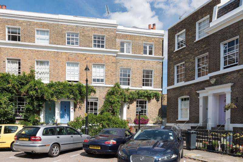 4 Bedrooms Terraced House for sale in Hanover Gardens, Oval, London, SE11