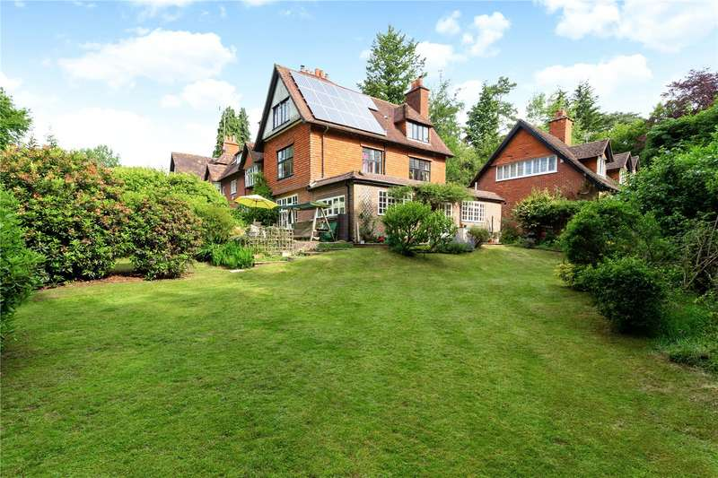 4 Bedrooms Semi Detached House for sale in Honeyhanger, Hindhead Road, Hindhead, Surrey, GU26