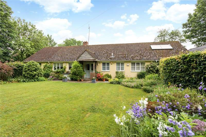 4 Bedrooms Detached Bungalow for sale in East Chisenbury, Pewsey, Wiltshire, SN9