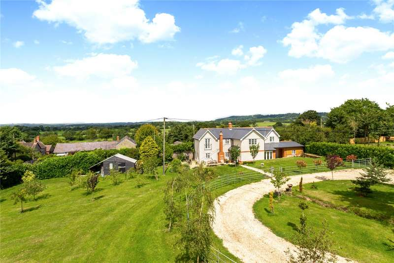 4 Bedrooms Detached House for sale in Sherborne Causeway, Shaftesbury, SP7