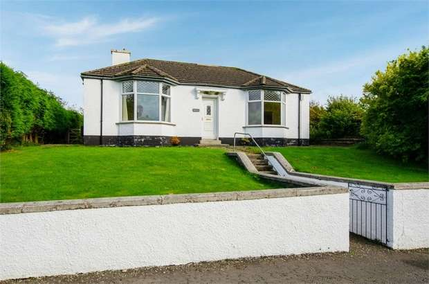 3 Bedrooms Detached Bungalow for sale in Main Street, Twynholm, Kirkcudbright, Dumfries and Galloway