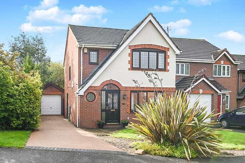 3 Bedrooms Detached House for sale in Pegasus Way, Hilton, Derby, DE65