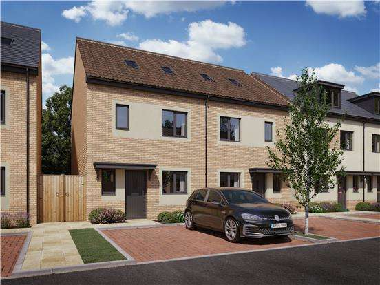 3 Bedrooms End Of Terrace House for sale in Strawberry Fields Mendip Road, Yatton, BRISTOL, BS49 4ET