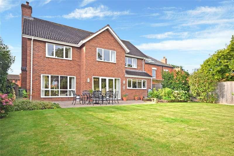 5 Bedrooms Detached House for sale in Burtle Road, Burtle, Bridgwater, Somerset, TA7