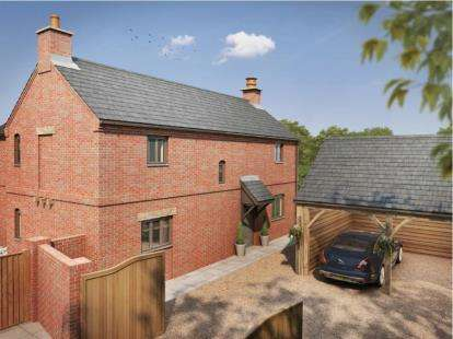 4 Bedrooms Detached House for sale in Rose and Crown, Main Street, Tilton On The Hill, Leicestershire