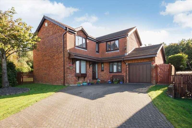 4 Bedrooms Detached House for sale in McLaren Grove, Stewartfield, EAST KILBRIDE