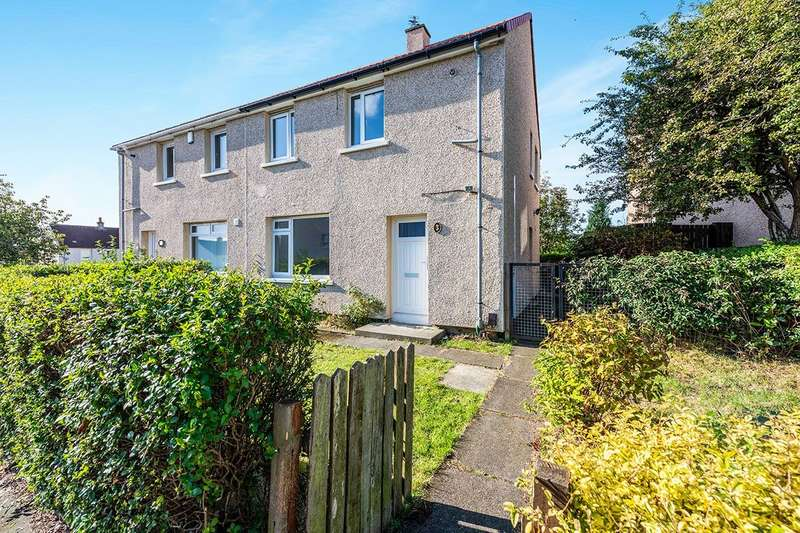2 Bedrooms Semi Detached House for sale in Campsie Crescent, Kirkcaldy, Fife, KY2