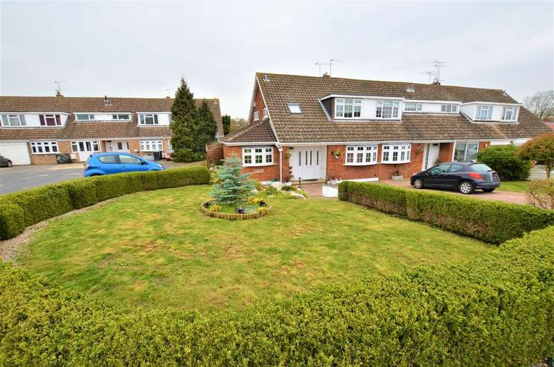 4 Bedrooms Semi Detached House for sale in Elm Close, Waltham Abbey EN9
