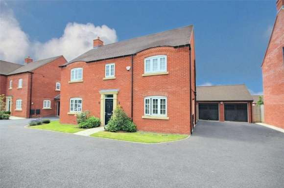 4 Bedrooms Detached House for sale in Cowslip Close, Wootton, Northampton