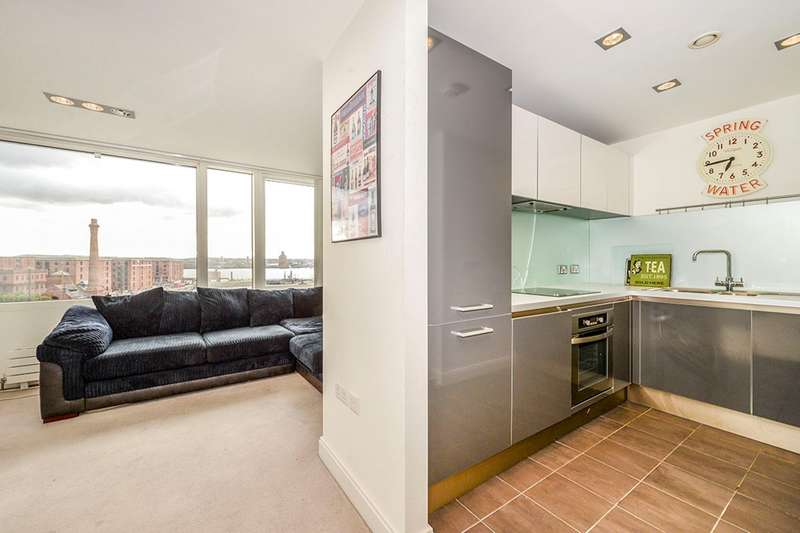 2 Bedrooms Apartment Flat for sale in Strand Street, Liverpool, L1