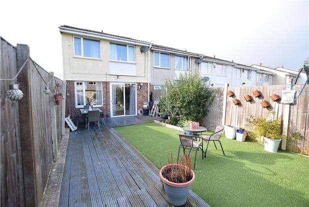 3 Bedrooms End Of Terrace House for sale in Meadowside Drive, BRISTOL, BS14 0NR