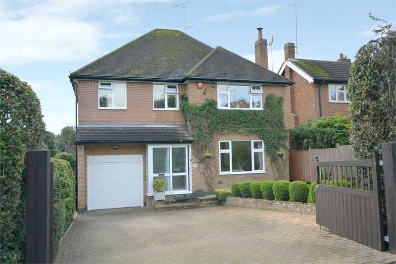 4 Bedrooms Detached House for sale in Lower Hillmorton Road, Hillmorton, Rugby, Warwickshire