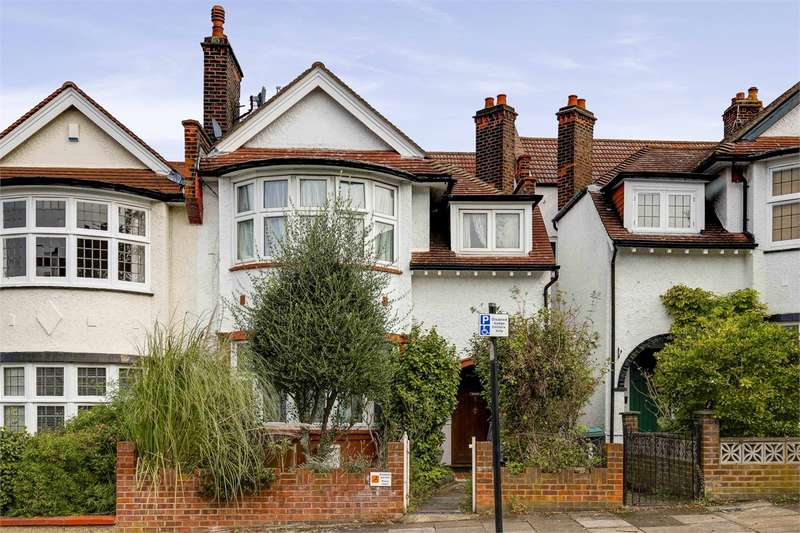 4 Bedrooms Terraced House for sale in Elgin Road, Muswell Hill Borders, London