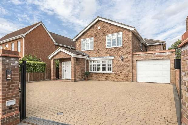 4 Bedrooms Detached House for sale in Putnoe Lane, Bedford