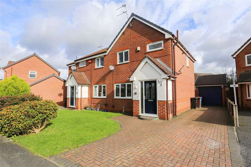 3 Bedrooms Semi Detached House for sale in Three Acres Drive, South Reddish, Stockport, SK5