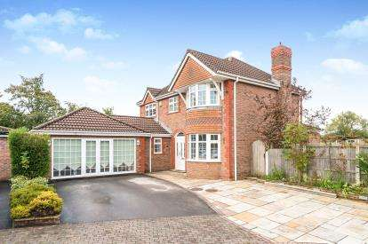4 Bedrooms Detached House for sale in Telford Close, Widnes, Cheshire, WA8