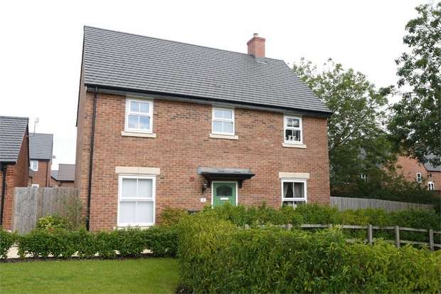 4 Bedrooms Detached House for sale in Harvest Road, Market Harborough, Leicestershire