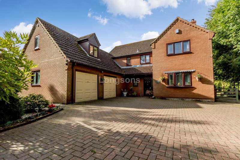 5 Bedrooms Detached House for sale in Cook Road, Holme Hale