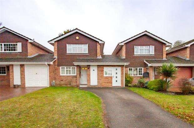 3 Bedrooms Link Detached House for sale in Elizabeth Avenue, Bagshot, Surrey