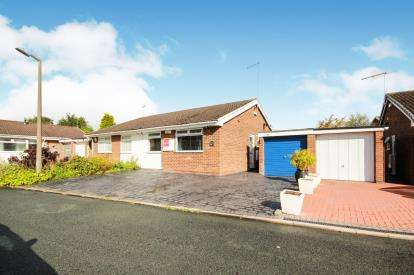 2 Bedrooms Bungalow for sale in Lancaster Close, Winsford, Cheshire